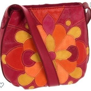 Lucky Brand NEW Patch Leather Purse
